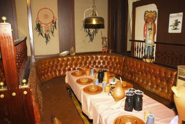 Sitzecke im Hotel Pfiffelburg