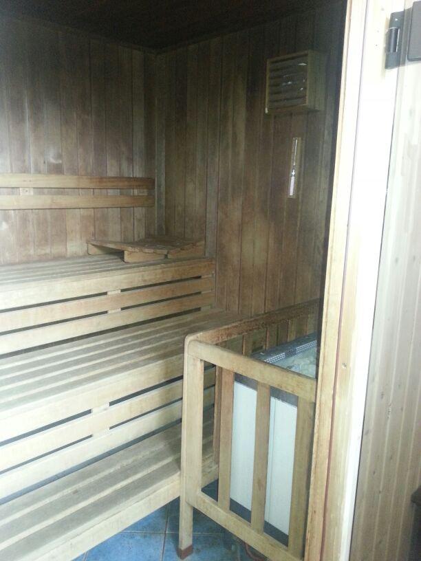Sauna im Hotel Pfiffelburg