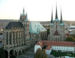 Landeshauptstadt von Thüringen Erfurt