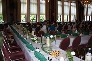 Großer Saal im Hotel Pfiffelburg